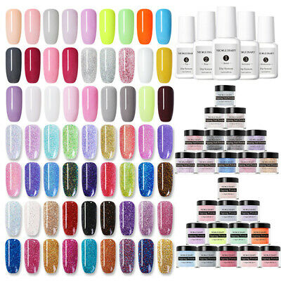 NICOLE DIARY 10ml Nails Color Dipping Powder Liquid Starter Kit NO UV/SMELL