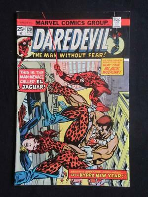 Daredevil #120 MARVEL 1975 - NEAR MINT 9.8 NM - Black Widow, Stan Lee comics!