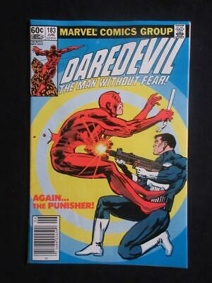 Daredevil #183 MARVEL 1982 - NEAR MINT 9.6 NM - Punisher app - Stan Lee!
