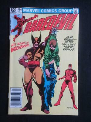 Daredevil #196 MARVEL 1983 - NEAR MINT 9.8 NM - Wolverine app - Stan Lee!