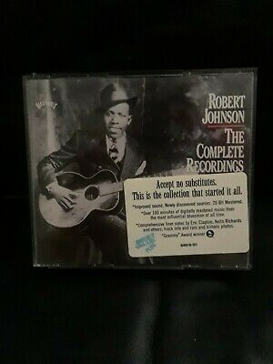 Robert Johnson The Complete Recordings 2 CD Set