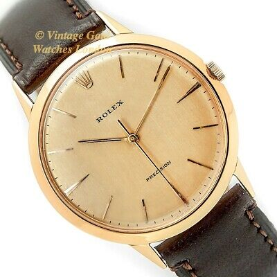 Rolex Precision, 18Ct, 1958, 36Mm, Oversize - Immaculate!