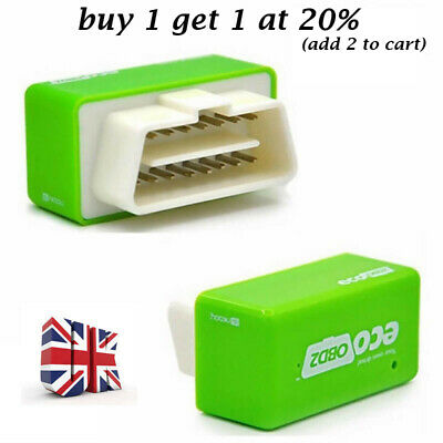 ECO OBD2 Detector Flasher Fuel Power Economy Chip Tuning Box for Gasoline Cars