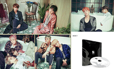 BANGTAN BOYS KPOP BTS WINGS Vol2 Album [I Ver]CD+Poster+Photobook+Photocard+Gift