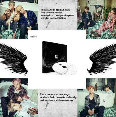 BANGTAN BOYS KPOP BTS WINGS Vol2 Album [N Ver]CD+Poster+Photobook+Photocard+Gift