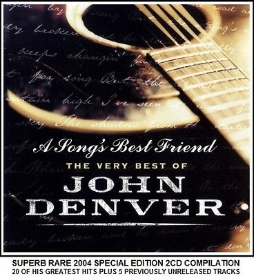 John Denver - The Very Best Greatest Hits Collection RARE 2004 Country Folk 2CD
