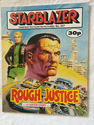 "Starblazer #237  ""ROUGH JUSTICE"" published by DC Thomson"