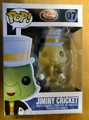 Funko Pop! Disney.  Jiminy Cricket # 07 Series 1 Now Out Of Production