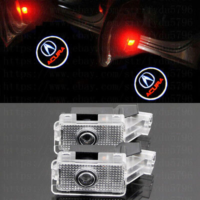 No Drill LED Door Ghost Shadow Projector Logo Light For ACURA ZDX TLX RLX MDX TL