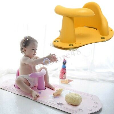 Baby Bath Seat Anti Slip Safety Chair Tub Ring Seat Infant Care Bathing Support