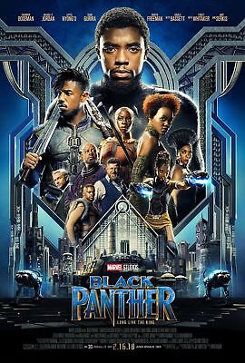 Black Panther 2018 DVD Disc Movie Film Fantasy Sci fiction UK STOCK