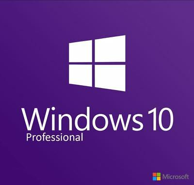 Windows 10 Professional 32/64 Bit | Win Pro Lizenz Key | Vollversion MS Windows