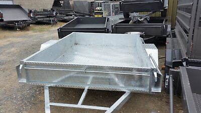 8 x 5 BOX GALVANIZED TRAILER