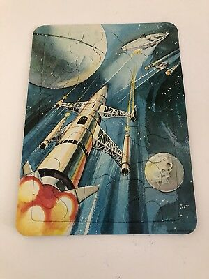 Vintage Space Craft Sci-fi Our Of Space Jigsaw Puzzel