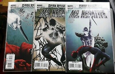 Spiderman Mr Negative Issues 1-3 NM Bagged and Boarded 2009
