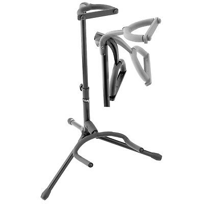 Stagg Tripod Guitar Stand, Folding Legs - Black