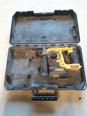 Dewalt DCH253 18v sds body only used condition-good working order-with case