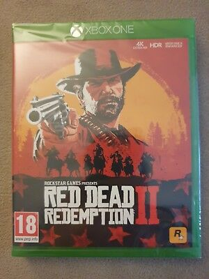 Red Dead Redemption 2 (Xbox One) *NEW & SEALED!*