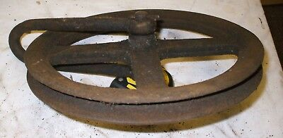 Turret Clock Pulley
