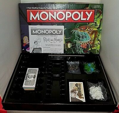 Brand NEW! Monopoly - Rick and Morty Edition