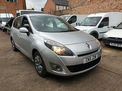 2011 Renault Scenic 1.5 Dci - DC4001 Gearbox - Spares Or Repairs - Export -