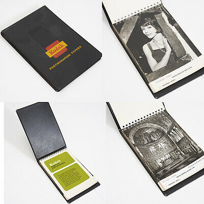 KODAK PHOTOGRAPHIC PAPER SAMPLE INFORMATION BOOK ESTIMATED EARLY 60's