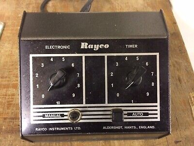 Rayco Photographic enlarger Timer