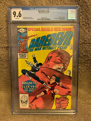 Daredevil 181 (CGC 9.6) White pages; Death of Elektra; Frank Miller