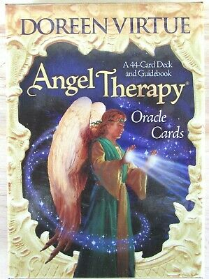 Doreen Virtue Angel Therapy Oracle Cards - 44 Card Deck & Guidebook Set