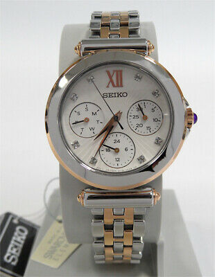 Seiko Lord Women's Watch Analogue with Swarowski Beads Defect See Description