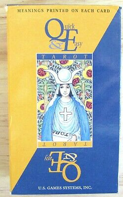 Quick and Easy Tarot - Fortune Telling Cards - 78 Card Deck
