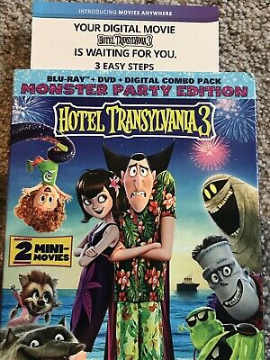 Hotel Transylvania 3 Digital HD Code Only from 4K UHD combo pack