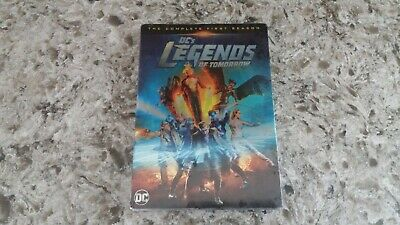 Legends of Tomorrow Complete First Season 1 DVD NEW & Sealed! DC Super Hero