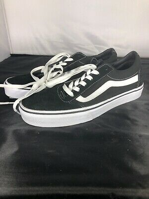 44a6a6ab9b 34 NEW - VANS Women s 500714  WARD  LO SUEDE BLACK LOW TOP SNEAKERS SHOES