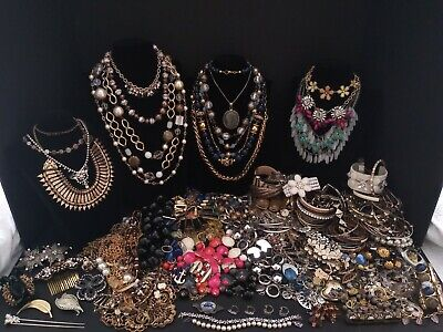 Huge Lot Jewelry Vintage to Modern (54.7g of Vintage 925 Silver) unique items