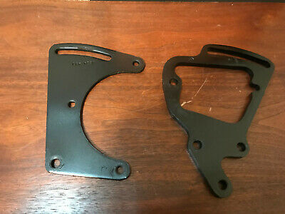 71-81 Chevy SB A6 A/C COMPRESSOR FRONT & REAR MOUNT BRACKETS AC Air Conditioning