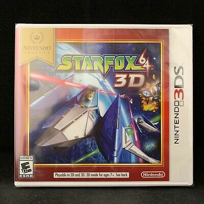 Star Fox 64 3D (Nintendo 3DS) Nintendo Selects / BRAND NEW