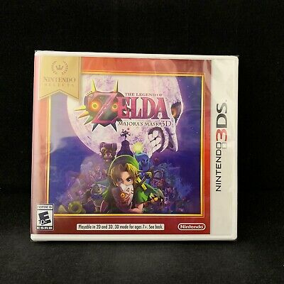 The Legend of Zelda: Majora's Mask 3D (Nintendo 3DS) Nintendo Selects / NEW