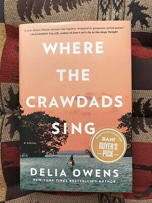 Where the Crawdads Sing~Hardcover 2018