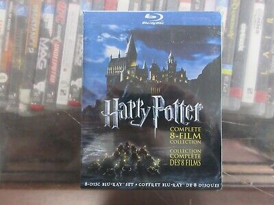 BRAND NEW Harry Potter Complete 8 Film Collection (Blu Ray)