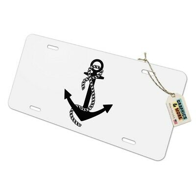 Black Octopus in the Abyss Novelty Metal Vanity Tag License Plate