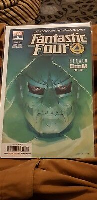 Marvel Comic Fantastic Four #6 2018 First Print Brand New! Mint Condition!