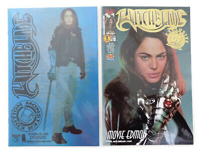2 Witchblade Comic Exclusives Monster Movie Ltd Ed Aug 2000 Top Cow & Df Coa Nm