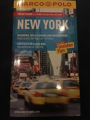 New York Marco Polo Pocket Guide *current Edition *