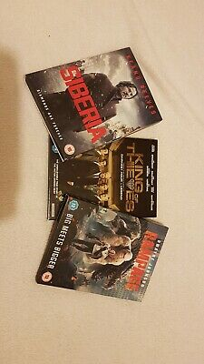 recent release dvd job lot, rampage, king of thieves, siberia
