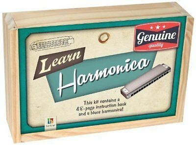 Hinkler Learn Harmonica With Instructions And Storage Box.  New.