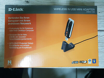 D-Link DWA-140 Netzwerkadapter Wireless USB Mini Adapter