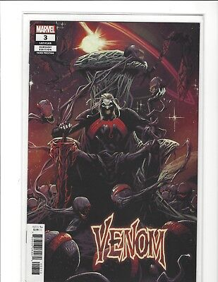 Venom #3 2018 3Rd Print 1St Knull God Of The Symbiotes Nm Cates Stegman 🔥🔥