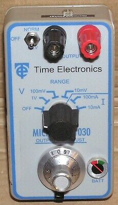 Time Electronics 1030 Microcal, upto 1V & upto 100mA, Calibration Unit, Cased !!