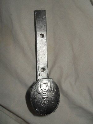 Metallic Silver Antique Coat Hooks Old Railroad Spikes Strong Shop Hanger Decor